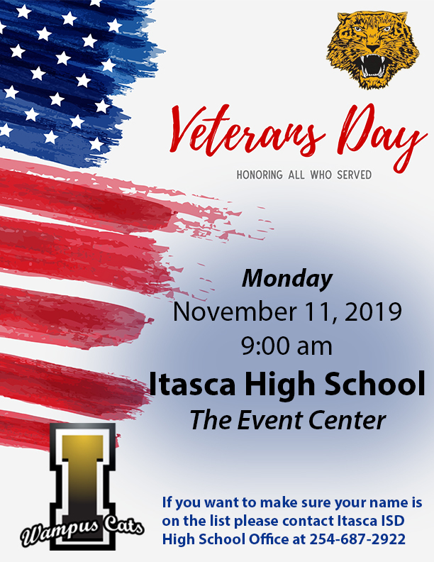 Veterans Day Flier