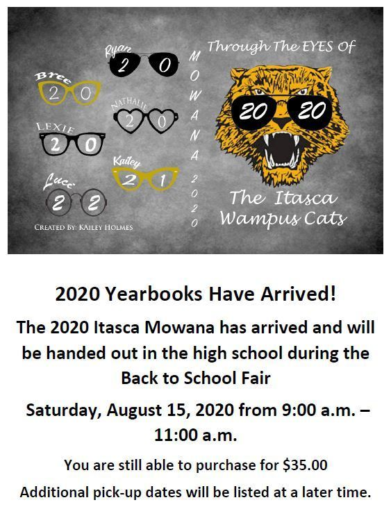 2020 Yearbooks Have Arrived!